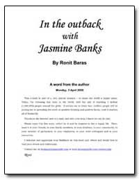 In the Outback with Jasmine Banks by Ronit Baras