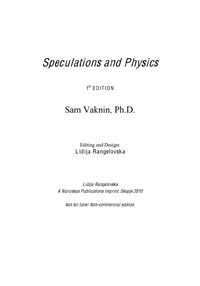 Speculations and Physics by Sam Vaknin, Ph. D.