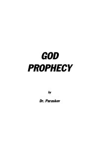 God Prophecy by Dr. Paraskev