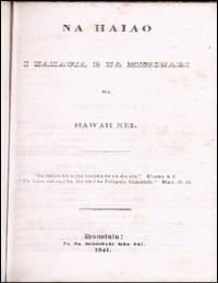 Na Haiao (Sermons) by I Kakauia E Na Misionari