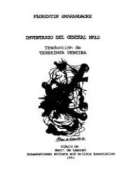 Inventario Del General Maid by Florentin Smarandache