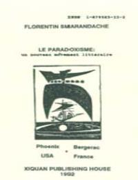 Le Paradoxisme : Un Nouveau Advement Lit... by Florentin Smarandache