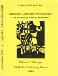 Miscarea Literara Paradoxista by Constantin M. Popa
