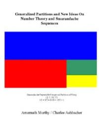 Generalized Partitions and New Ideas on ... by Amarnath Murthy and Charles Ashbacher
