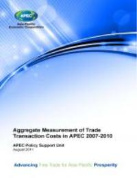 Aggregate Measurement of Trade Transacti... by Its Global
