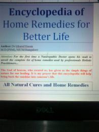 Encyclopedia of Home Remedies for Better... by Dr Izharul Hasan