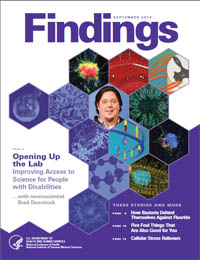Findings Magazine: September 2012 Volume September 2012 by National Institute of General Medical Sciences
