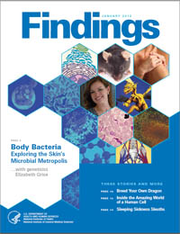 Findings Magazine: January 2012 Volume January 2012 by National Institute of General Medical Sciences