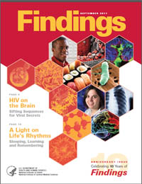 Findings Magazine: September 2011 Volume September 2011 by National Institute of General Medical Sciences