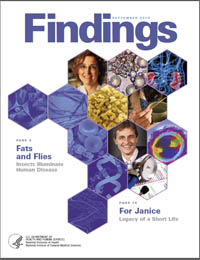 Findings Magazine: September 2010 Volume September 2010 by National Institute of General Medical Sciences