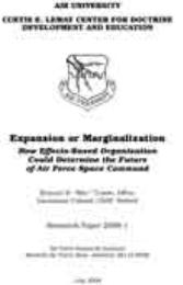 "AFRI Research Paper 2008-1, Expansion or... by Edward B. ""Mel"" Tomme, D. Phil"