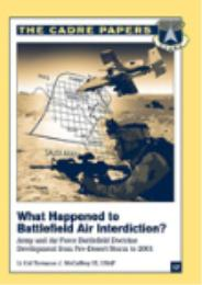 What Happened to Battlefield Air Interdi... by Terrance J. McCaffrey III