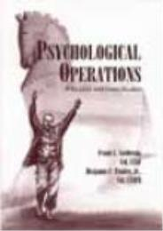 Psychological Operations : Principles an... by Frank L. Goldstein; Benjamin F. Findley Jr.