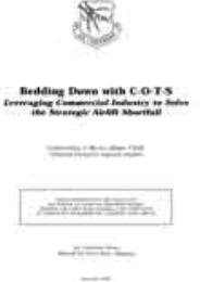 Bedding Down with C-O-T-S Leveraging Com... by Christopher J. Bence