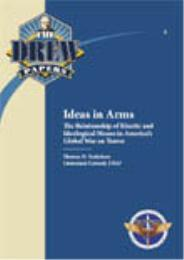 Ideas in Arms : The Relationship of Kine... by Thomas D. Torkelson, Lieutenant Colonel, USAF