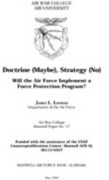Doctrine (Maybe), Strategy (No), Will th... by James L. Lafrenz