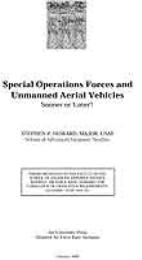 Special Operations Forces and Unmanned A... by Major Stephen P. Howard, USAF