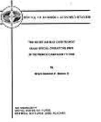 The Secret Air War over France : USAAF S... by Major Bernard V. Moore, II,USAF