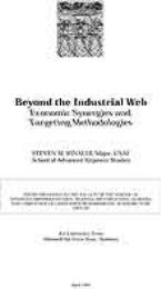 Beyond the Industrial Web : Economic Syn... by Major Steven M. Rinaldi, USAF