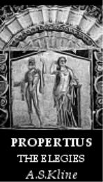 The Love Elegies by Propertius, Sextus