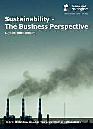 Sustainability: The Business Perspective by Wright, Simon