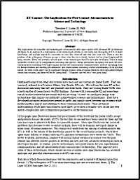 ET Contact : The Implications for Post C... by Loder III, Theodore, C., Ph.D.