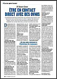 Dr. Steven Greer: Être En Contact Direct... by Gauthier , Frances
