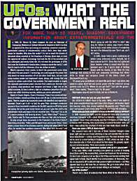 UFOs : What the Government Really Knows by Bassior, Jean-Noel