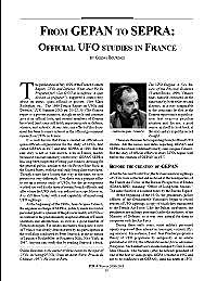 From GEPAN to SEPRA : Official UFO Studi... by Bourdais, Gildas