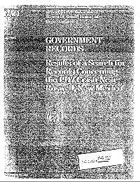 Government Records : Results of a Search... by Davis, Richard