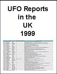 UFO Report 1999 from the United Kingdom by United Kingdom Ministry of Defence