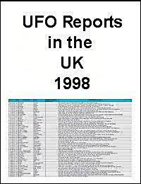 UFO Report 1998 from the United Kingdom by United Kingdom Ministry of Defence