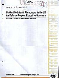 Unidentified Aerial Phenomena in the UK ... Volume No. 55/2/00 by Defence Intelligence Staff, UK