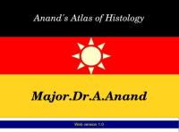 Anand's Atlas of Histology : Handbook of... by Andappan, Anand, Dr.