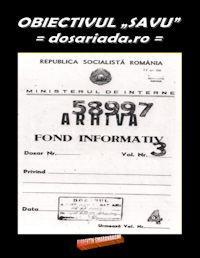 Obiectivul Savu : Dosariada.ro by Smarandache, Florentin