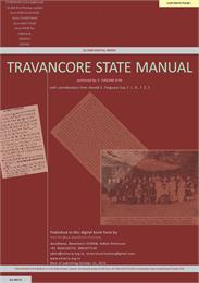 Travancore State Manual by Aiya, V., Nagam