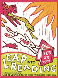 Leap into Reading by Amos, Wally