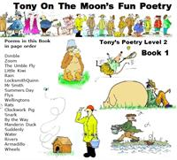 Tony on the Moon's Fun Poetry 2-1 : Fun ... Volume Level 2, Book 1 by Moon, Tony, James