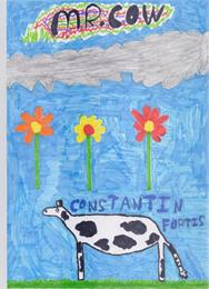 Mr. Cow by Fortis, Constantin, Maria