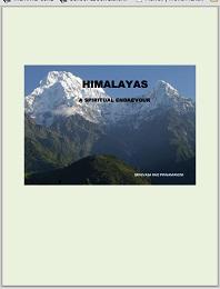 Himalayas A Spiritual Endeavour : Volume... by Pinnamaneni, Srinivasa, Rao