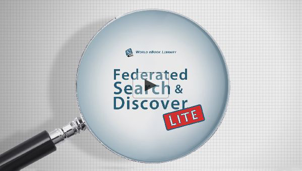 Federated Search & Discover LITE by World eBook Library