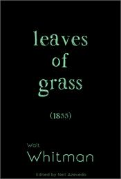 Leaves of Grass; 1855 Edition : Volume 1... by Whitman, Walt