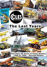 Coles Cranes The Last Years 1960 - 1998 ... Volume Book 2 of 2 by Kemp, Anthony, James