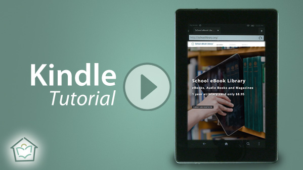 How-To Tutorials: Download eBooks to Kin... by Library, School, eBook