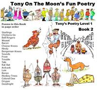 Tony on the Moon's Fun Poetry 1-2: Fun i... Volume Level 1, Book 2 by Moon, Tony, James