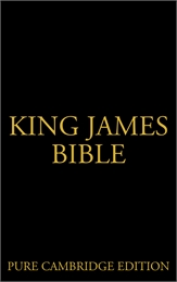 King James Bible, Pure Cambridge Edition by Domain, Public