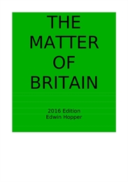 The Matter of Britain : All the Original... Volume 2016 Edition by Hopper, Edwin, Colwell