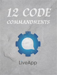 LiveApp - 12 Code Commandments by Mehta, Anil