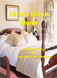 Fern's Linen Sheet by Rocque, Angie