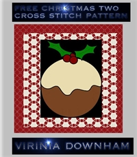 Christmas Cross Stitch Pattern 2 : Chris... by Downham, Virinia, Helen, Mrs.